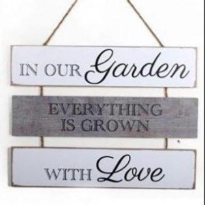 gardeners plaque