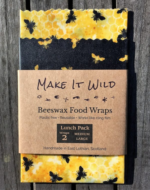 beeswax lunch wrap