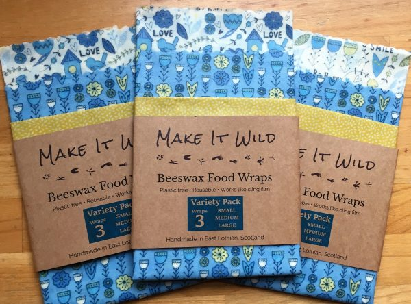 Bees wax food wraps