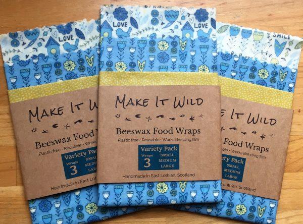 Bees wax food wraps