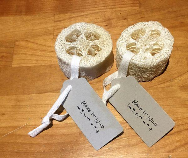 natural loofah scrubber