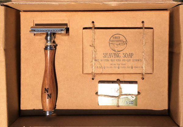 zero waste shaving kit